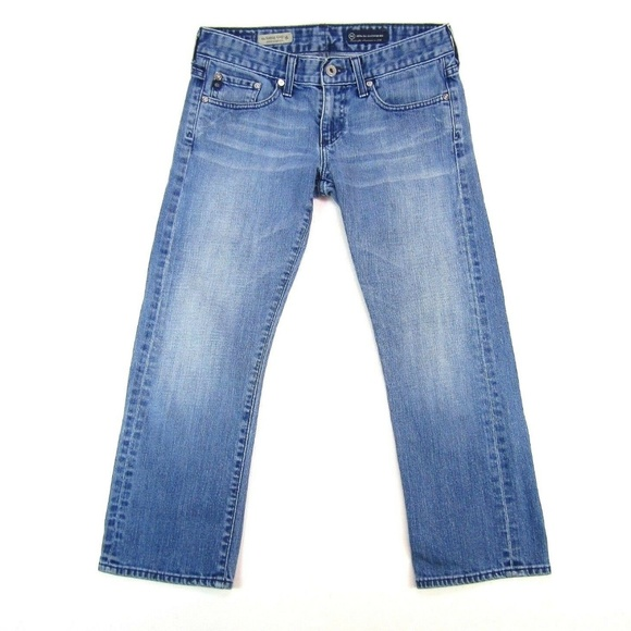 Ag Adriano Goldschmied Denim - Adriano Goldschmied Relaxed Striaght Tomboy Crop